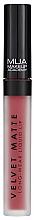 Fragrances, Perfumes, Cosmetics Liquid Matte Lipstick - MUA Academy Velvet Matte Long-Wear Liquid Lip
