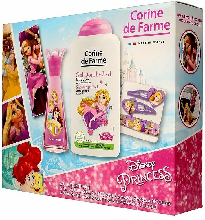 Corine de Farme Princess - Set (edt/30ml +sh/gel/250ml + accessories)