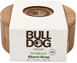 Fragrances, Perfumes, Cosmetics Shave Soap in Bamboo Soap Dish - Bulldog Skincare Original Shave Soap In A Bamboo Bowl
