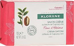 Fragrances, Perfumes, Cosmetics Soap - Klorane Cupuacu Hibiscus Flower Cream Soap