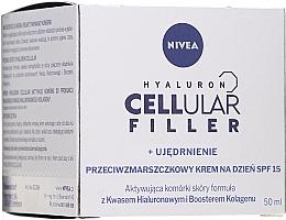 Fragrances, Perfumes, Cosmetics Anti-Aging Day Cream - Nivea Cellular Anti-Age Skin Rejuvenation Face Day Cream SPF 15