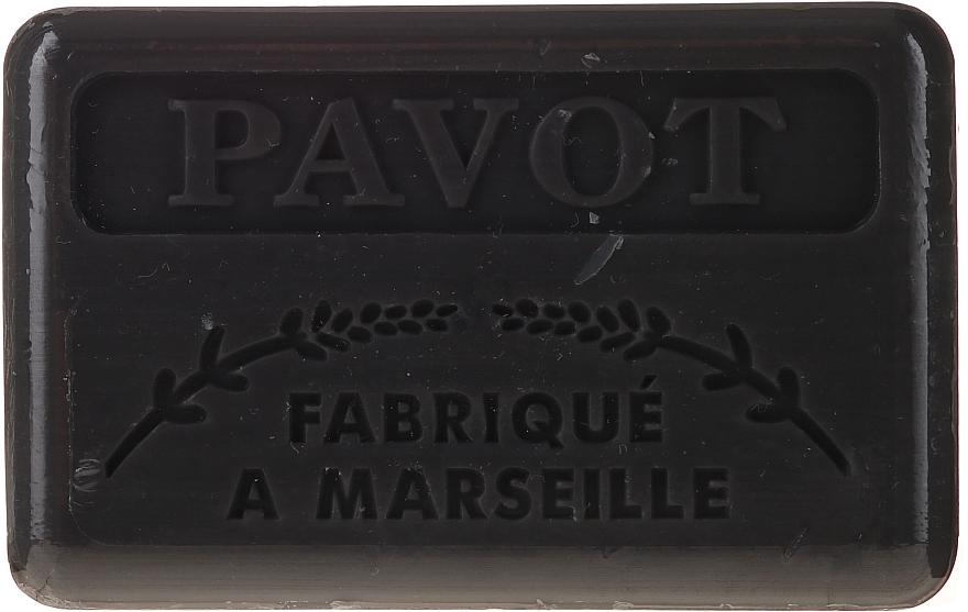 "Marseilles Soap ""Poppy"" - Foufour Savonnette Marseillaise Pavot"