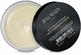 Fragrances, Perfumes, Cosmetics Mattifying Strong Hold Clay - Balmain Matt Clay Strong