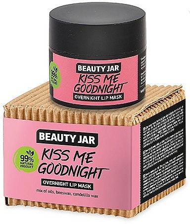 Night Lip Mask - Beauty Jar Kiss Me Goodnight Overnight Lip Mask