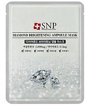 Fragrances, Perfumes, Cosmetics Diamond Powder Face Mask - SNP Diamond Brightening Ampoule Mask
