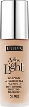 Fragrances, Perfumes, Cosmetics Natural Radiance Face Foundation - Pupa Active Light SPF10