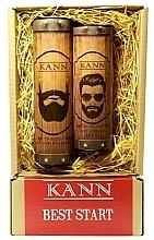 Fragrances, Perfumes, Cosmetics Set - Kann Best Start Man (f/d/cr/50ml + f/gel/150ml)
