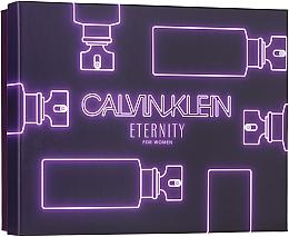 Fragrances, Perfumes, Cosmetics Calvin Klein Eternity For Woman - Set (edp/100ml + edp/10ml + b/l/100ml)