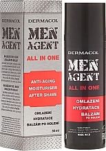 Fragrances, Perfumes, Cosmetics Face Cream-Balm - Dermacol Men Agent All In One