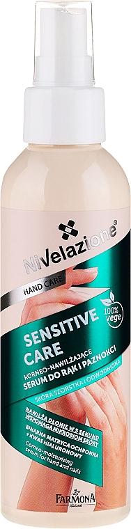 Hand & Nails Serum - Farmona Nivelazione Sensitive Care Corneo-Moisturizing Serum For Hand And Nail