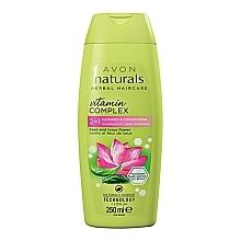"Fragrances, Perfumes, Cosmetics 2-in-1 Shampoo & Conditioner ""Basil & Lotus Flower"" - Avon Naturals Hair Care Shampoo"