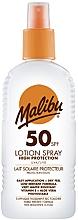 Fragrances, Perfumes, Cosmetics Body Sunscreen Lotion Spray - Malibu Sun Lotion Spray High Protection Water Resistant SPF 50