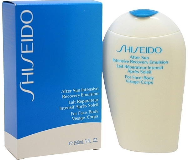 After Sun Face and Body Emulsion - Shiseido Suncare After Sun Intensive Recovery Emulsion — photo N3