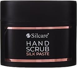 Fragrances, Perfumes, Cosmetics Hand Peeling Paste - Silcare Hand Scrub Silk Paste (mini size)