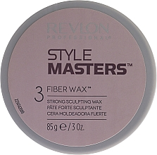 Fragrances, Perfumes, Cosmetics Strong Hold Wax - Revlon Style Masters Fibre Wax 3 Strong Scultping Wax