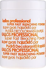 Fragrances, Perfumes, Cosmetics Bleaching Hair Powder - Kallos Cosmetics Powder For Hair Bleaching