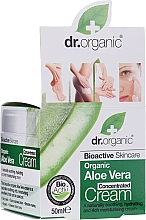 Fragrances, Perfumes, Cosmetics Concentrated Aloe Vera Cream - Dr.Organic Bioactive Skincare Aloe Vera Concentrated Cream