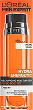 Fragrances, Perfumes, Cosmetics Moisturizing Fluid - L'Oreal Paris Hydra Energetic X-Treme Taurine Boost Moisturizing Fluid