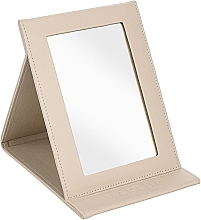 Fragrances, Perfumes, Cosmetics Tabletop Cosmetic Mirror, beige - MakeUp Tabletop Cosmetic Mirror Beige