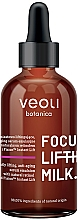 Fragrances, Perfumes, Cosmetics Anti-Aging Face Serum Emulsion - Veoli Botanica Focus Lifting Milk
