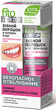 Fragrances, Perfumes, Cosmetics Ready-Made Tooth Powder for Sensitive Teeth - Fito Cosmetic