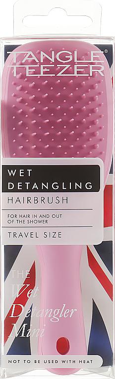 Hair Brush - Tangle Teezer The Wet Detangler Mini Baby Pink Sparkle