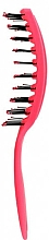 Quick Dry Hair Brush, pink - Rolling Hills Hairbrushes Quick Dry Brush Pink — photo N2