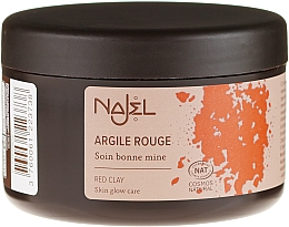 """Fragrances, Perfumes, Cosmetics Cosmetic Clay """"Red"""" - Najel Red Clay For Healthy Glow"""