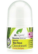 "Fragrances, Perfumes, Cosmetics Deodorant ""Tea Tree"" - Dr. Organic Bioactive Skincare Tea Tree Roll-On Deodorant"