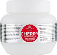 Fragrances, Perfumes, Cosmetics Cherry Extract Hair Mask - Kallos Cosmetics Hair Cherry Mask
