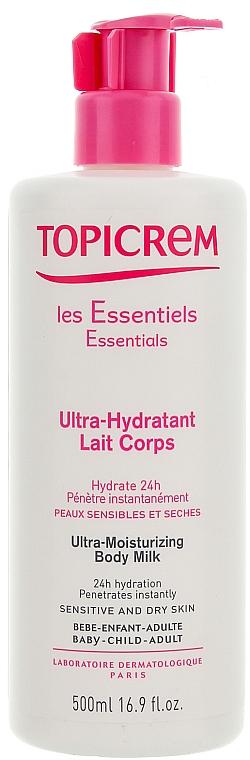 Ultra-Moisturizing Body Emulsion - Topicrem Ultra Hydratante