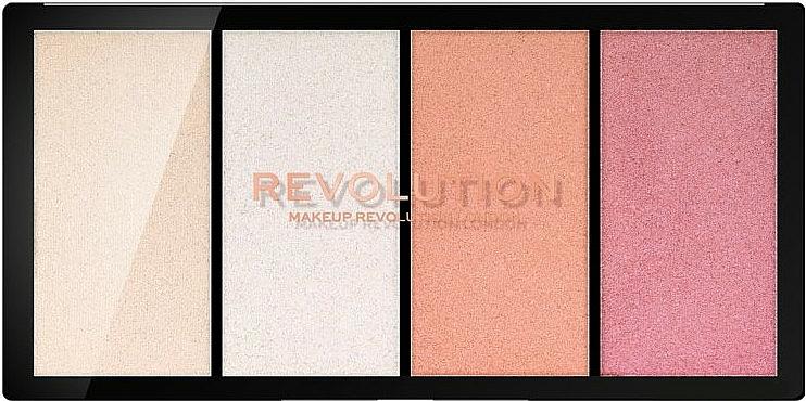 Highlighter Palette - Makeup Revolution Re-Loaded