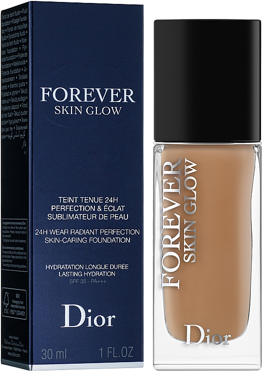 Foundation - Dior Diorskin Forever Skin Glow Foundation