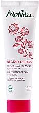 Fragrances, Perfumes, Cosmetics Light Hand Cream - Melvita Nectar De Rose Light Hand Cream