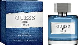 Fragrances, Perfumes, Cosmetics Guess 1981 Indigo For Men - Eau de Toilette