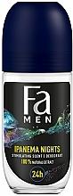 "Fragrances, Perfumes, Cosmetics Men Roll-On Deodorant ""Ipanema Nights"" - Fa Men Ipanema Nights Deo Roll On"