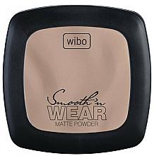 Fragrances, Perfumes, Cosmetics Compact Mattifying Powder - Wibo Smooth'n Wear Matte Powder