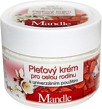 Fragrances, Perfumes, Cosmetics Universal Family Cream - Bione Cosmetics Mandle Cream