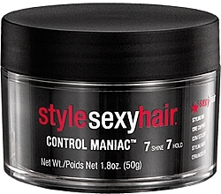 Fragrances, Perfumes, Cosmetics Styling Wax - SexyHair StyleSexyHair Control Maniac Styling Wax