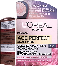 Fragrances, Perfumes, Cosmetics Night Face Cream - L'Oreal Paris Age Perfect Neo-Calcium Night Cream 60+
