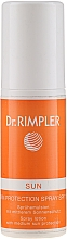 Fragrances, Perfumes, Cosmetics Sunscreen Lotion Spray SPF 15 - Dr. Rimpler Sun Skin Protection Spray Lotion SPF 15