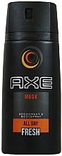 Fragrances, Perfumes, Cosmetics Deodorant - Axe All Day Fresh Musk Deodorant
