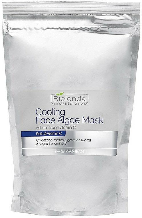 Alginate Face Mask with Rutin and Vitamin C - Bielenda Professional Cooling Face Algae Mask (refill)