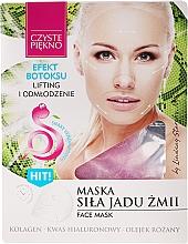 Fragrances, Perfumes, Cosmetics Face Mask with Snake Venom - Czyste Piekno Face Mask