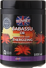Fragrances, Perfumes, Cosmetics Color-Treated Hair Mask - Ronney Mask Babassu Oil Energizing Therapy
