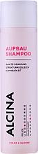 Fragrances, Perfumes, Cosmetics Repair Shampoo - Alcina Color & Blonde Regenerative Shampoo