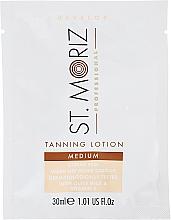 Fragrances, Perfumes, Cosmetics Self-Tanning Body Lotion - St. Moriz Self Tanning Lotion Medium (sample)