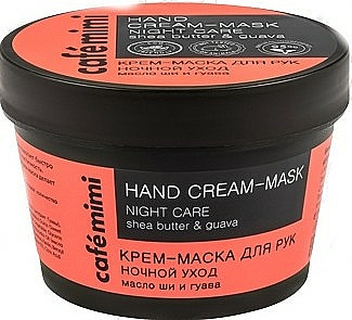 """Hand Cream Mask Shea Butter and Guava """"Night Care"""" - Cafe Mimi Hand Cream-Mask Night Care"""