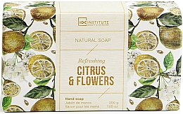 Fragrances, Perfumes, Cosmetics Soap - IDC Institute Refreshing Hand Natural Soap Citrus & Flowers