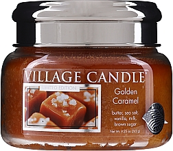 Fragrances, Perfumes, Cosmetics Scented Candle in Jar - Village Candle Gold Caramel